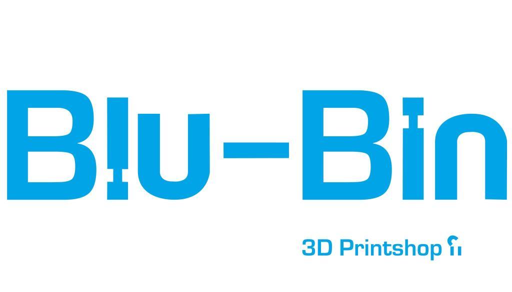 Blu-Bin 3D printing